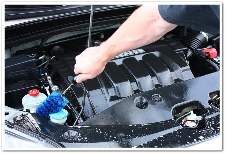 Почистить двигатель своими руками