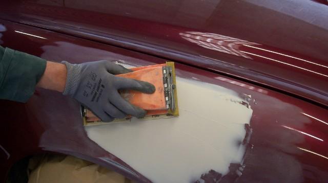 Выравнивание шпатлевки кузова авто как правильно наливать наливной пол