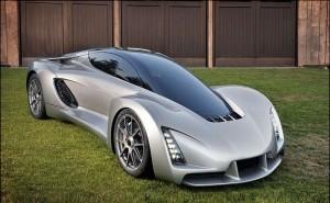 Автомобиль Blade, напечатанный на 3D-принтере
