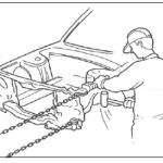 Выравнивание кузова автомобиля после аварии