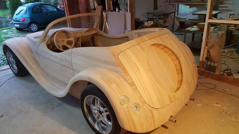 Как сделать деревянную машину своими руками большую 57
