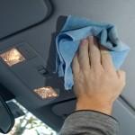 Чистка потолка автомобиля своими руками