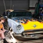 Оборудование гаража под мастерскую по кузовному ремонту