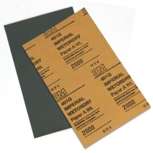 Водостойкая шлифовальная бумага 3M P2000