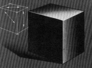 """аэрография """"куб"""""""