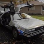 """Реплика DeLorean из фильма """"Назад в будущее"""". Интервью владельца машины."""