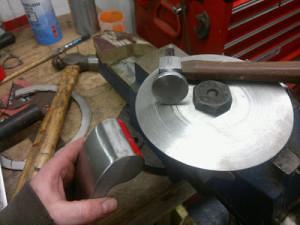 Shrinking disc (осадочный диск) своими руками