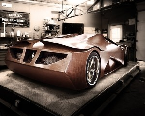 деревянное авто Splinter