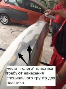 Технология шпаклевки и окраски пластиковых бамперов