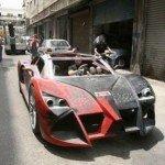Ливанский студент сделал спорткар своими руками