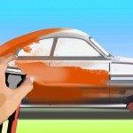 Покраска машины баллончиком