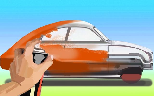 Технология нанесения лака после покраски автомобиля