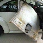 Ремонт обшивки потолка автомобиля