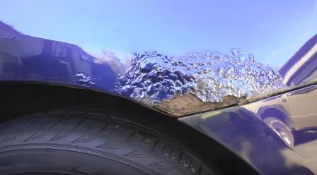 Восстановление кузова автомобиля от ржавчины