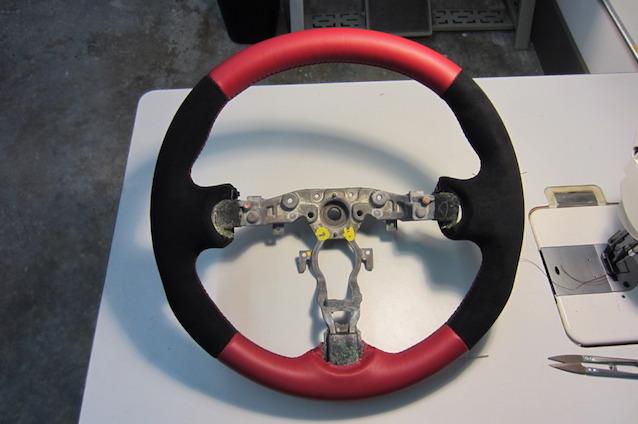 оплетка на руль своими руками