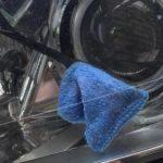 Как почистить фары изнутри?