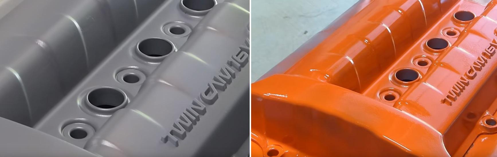 чем покрасить двигатель