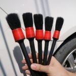 Какие кисточки и щётки использовать при детейлинге автомобиля?