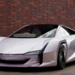 Автомобиль ncv из нановолокон целлюлозы, материала нового поколения