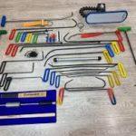 Обзор инструментов для беспокрасочного ремонта вмятин
